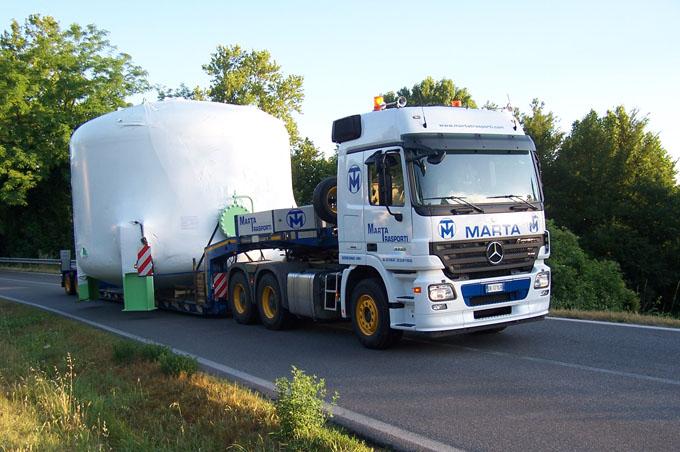 Movimentazione Cisterne
