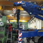 Movimentazione Impianti E Macchinari Industriali