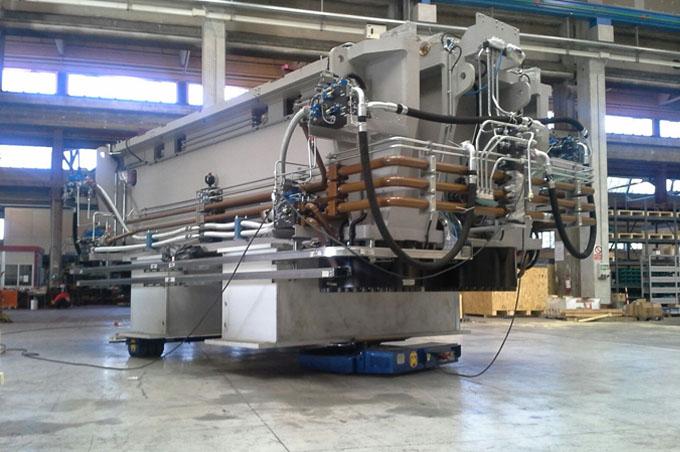 Movimentazione Impianti E Macchinari Industriali Complessi